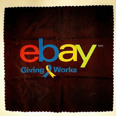 eBay Giving Works Screen Cleaning Cloth eBayana For Charity Eyeglasses Optical