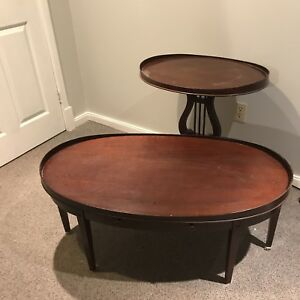 Beautiful Antique Duncan Pfyffe Coffee and 2 Side tables