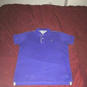 Burberry blue polo