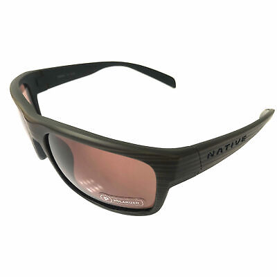 NEW Native Eyewear Ashdown Sunglasses - Wood Frame POLARIZED N3 (Wood Eyewear)
