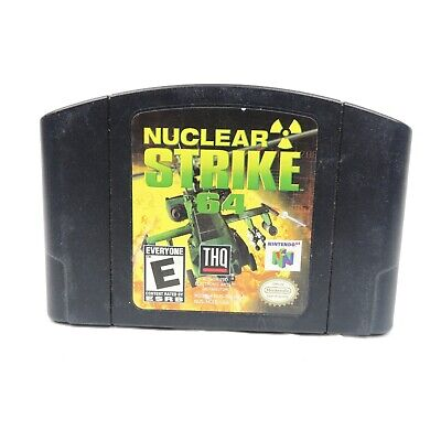 Nuclear Strike 64 (Nintendo 64, 1999) Game Only