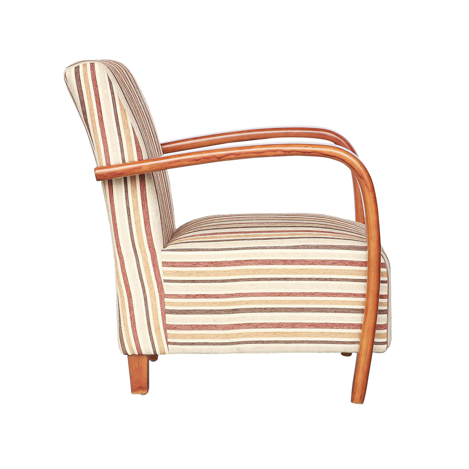 shankar restmore chenille stripe fabric accent armchair in