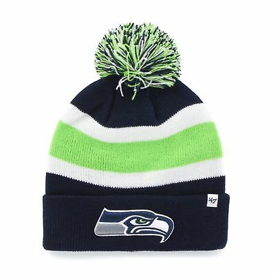 db2b8a4e925 Bridgestone Golf NFL Winter Cap BEANIE Toboggan SEATTLE SEAHAWKS Unisex NEW