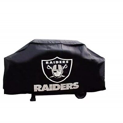 Oakland Raiders NFL Team Barbeque BBQ Grill (Nfl Bbq Grill Cover)