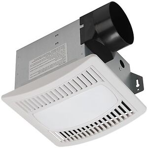 powerful 70cfm hoover bath bathroom ventilation fan vent amp light kit ships free ebay