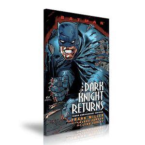 The Dark Knight Returns Batman Comics Canvas Wall Art Print 50x76cm