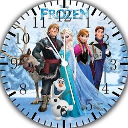 Disney Frozen Elsa wall Clock 10 will be nice Gift and Room wall Decor W470