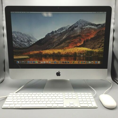 "21.5"" Apple iMac 12,1 Desktop - Intel i3-2100 3.1GHz 4GB RAM 250GB HDD MC978LL/A"
