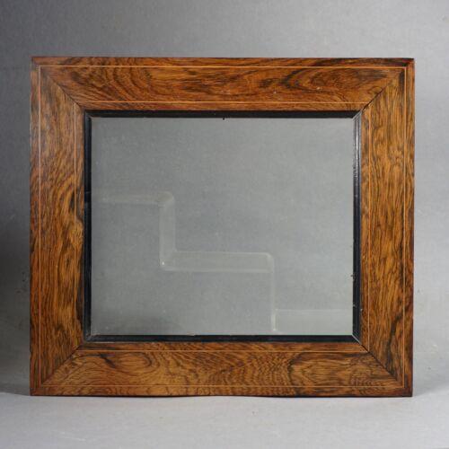 Frame Baguette Veneer Rosewood Louis Philippe Rabbet: 9 5/8x8 1/8in