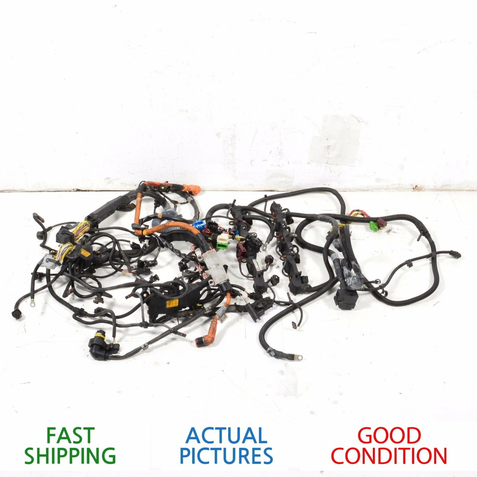 Used 2011 Bmw 750li Engines And Components For Sale Wire Harness 2015 F04 Engine Es Hybrid