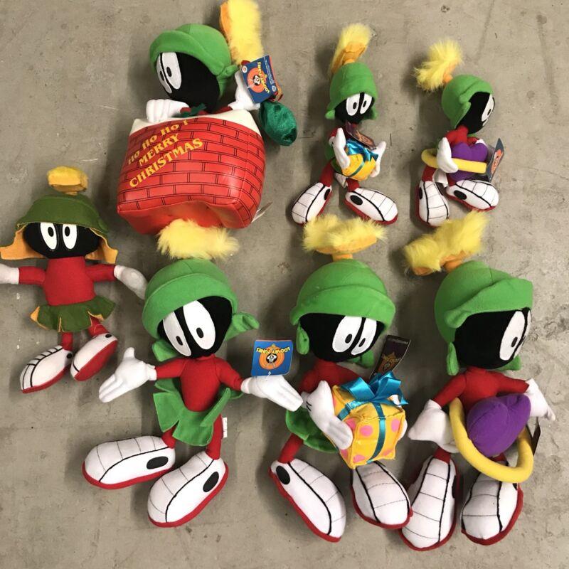 Looney Tunes Marvin the Martian Stuffed Plush Lot w/ Tag Nanco Warner Brothers