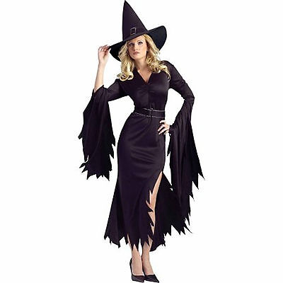Fun World Halloween Costume Sexy Gothic Witch Costume Complete Outfit Medium - Fun Halloween Costume