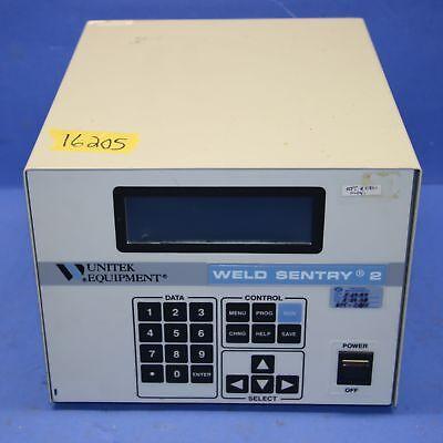 1 Used Unitek Weld Sentry 2 Ws210x 3-131-01-02 Welder 16205