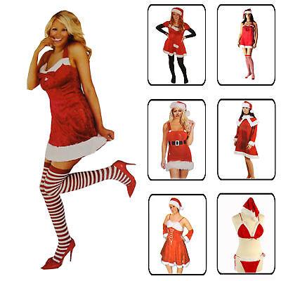 Kostüm Ideen Frau (Weihnachten Frau Weihnachtskostüm Weihnachtskleid Geschenkidee Sexy Santa Erotik)