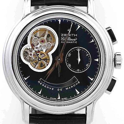 Zenith El Primero Automatic Chronomaster Chronograph - Showroom Condition