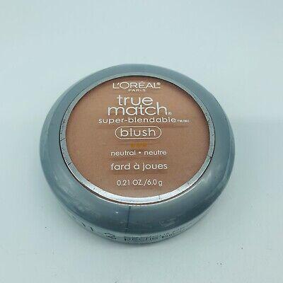 Non Comedogenic Blush - L'Oreal True Match Super Blendable Blush Neutral N1-2 Precious Peach 0.21oz New