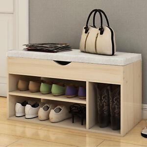 shoe storage seat ebay rh ebay co uk