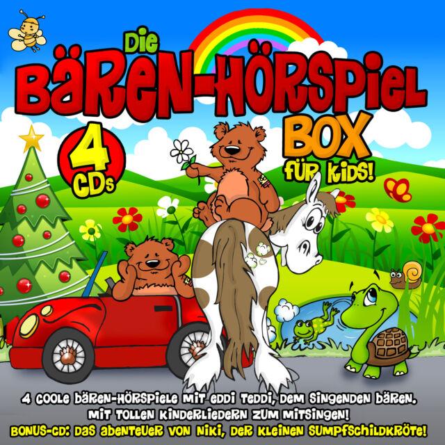 CD Eddie Edler Die Bären Hörspiel Box Für Kids   4CDs