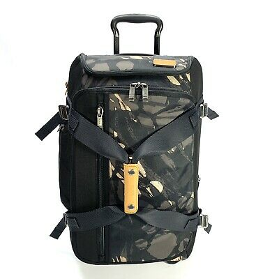 Tumi Merge Wheeled Duffel Bag Expandable Carry On Highlands Camo 222844 $750