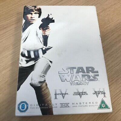 BOXSET - Star Wars Trilogy: Episodes IV, V And VI  DVD  (LUKE ON COVER)