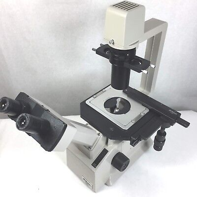 Nikon Tms Inverted Phase Contrast Microscope Warranty