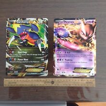 Oversized Garchomp & Mewtwo Pokemon cards Henley Beach Charles Sturt Area Preview