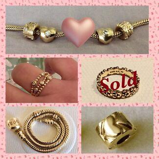 PANDORA GOLD SALE - PRICE DROP!!!