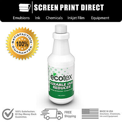 Ecotex Curable - Plastisol Ink Reducer For Screen Printing - 1 Pt.- 16oz