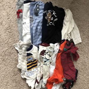 3-6 month baby top lot