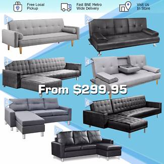 New High Quality Modern Sofa Lounge Bed Free SYD Metro Delivery