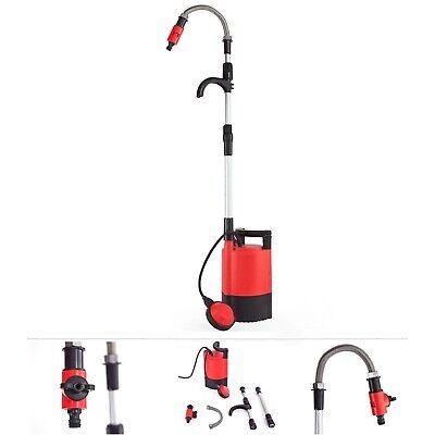 Grafner® Regenfasspumpe Wasserpumpe Pumpe Regentonne 5200 l/h Tauchpumpe Neu