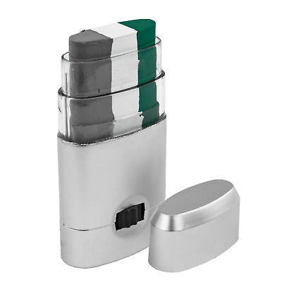 3 Color Face Paint Stick Dispenser Green White Silver Easy Apply Football Team