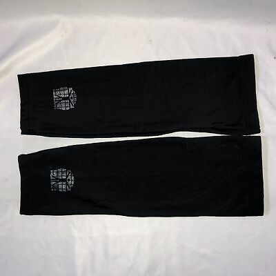 Bio Racer Cycling Knee Warmers Fleece Thermal Mens Small Black for sale  Shipping to India
