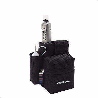 Vapesoon Vape Bag Dampfertasche Gürteltasche E-Zigaretten Taschen E-Liquid