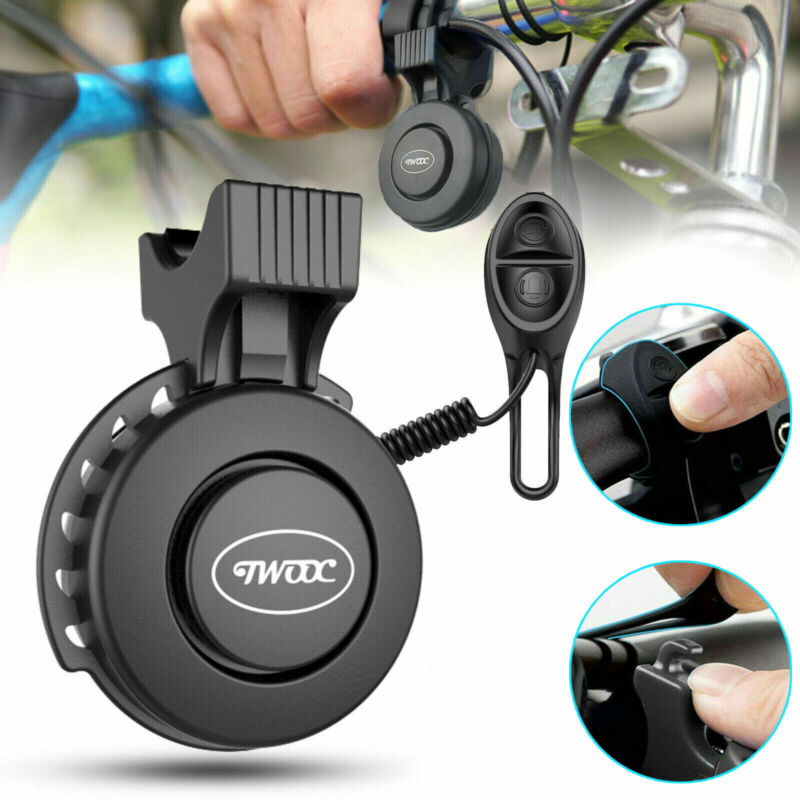 Waterproof Bike Handlebar Horn Cycling Electric Bicycle Ring Bell Alarm 100db