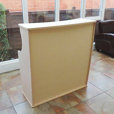 Trade show/salon reception desk -free delivery shop exhibition counter stand mdf