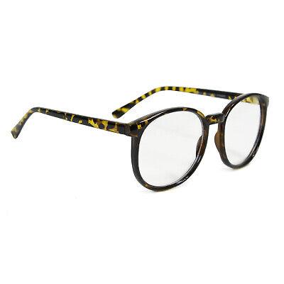 Adult Men's Retro Clark Kent 1951 Reeves Superman Costume Clear Tortoise Glasses - Clark Kent Halloween Glasses
