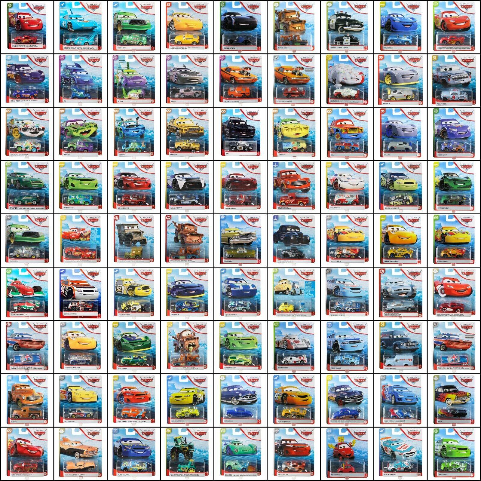Disney Pixar Cars 2020 Mattel 155 Scale Diecast Assortment Choose