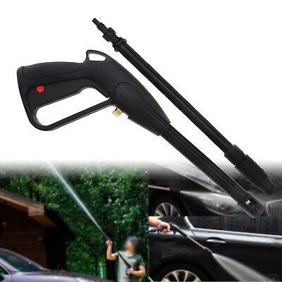 Adjustable Nozzle Lance Trigger Jet Wash Water Car High Pressure Spray Gun ()