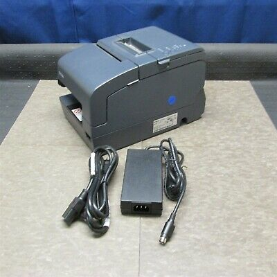 Epson Tm-h6000iv Pos Thermal Receipt Printer M253a W Pwr Supply