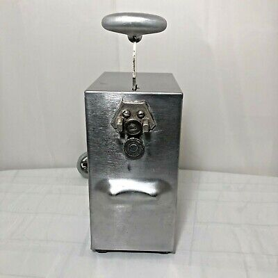 Edlund Stainless Steel Commercial Electric Can Opener Model 203 2 Speed