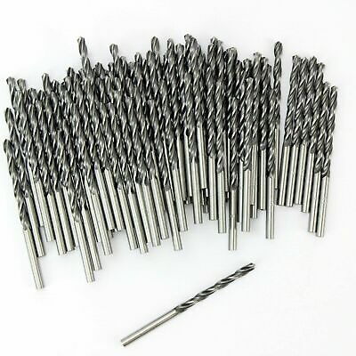 50 Bbw Profesional 4.5mm Brocas HSS para Metal, Madera & Pvc. Hecho...