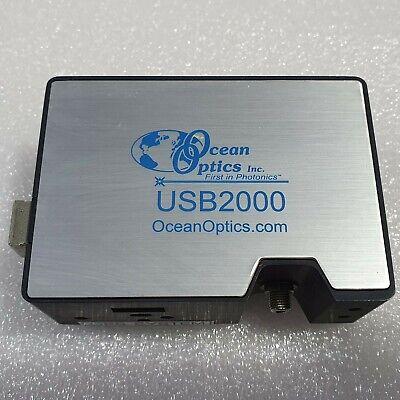 Ocean Optics Spectrometer Usb2000 Usb2g21738