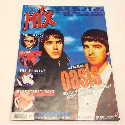 Oasis Liam Gallagher Paul Arthurs Complete Vintage  Mix  Danish Magazine 1997