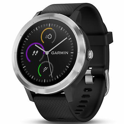 Garmin Vivoactive 3 GPS Fitness Smartwatch Tracker, Black/Stainless 010-01769-01 comprar usado  Enviando para Brazil
