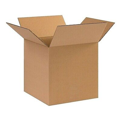 10 X 10 X 10 Corrugated Boxes 5 Pack 200 Lbs. Test