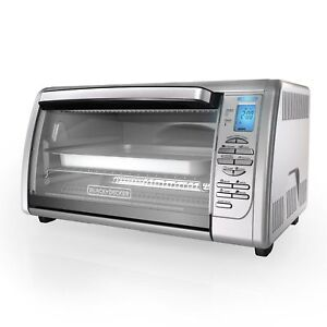 BLACK+DECKER Countertop Convection Toaster Oven, Silver, CTO6335S,NEW IN BOX!!!