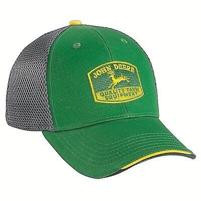 Emo Hats ( JOHN DEERE GREEN VINTAGE LOGO TRADITIONAL TRUCKERS PUNK EMO HAT CAP )
