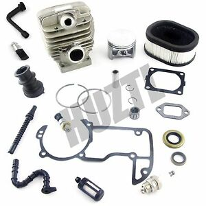54MM-NIKASIL-Cylinder-Piston-Gasket-Air-Filter-For-STIHL-066-MS660-Chainsaw-NEW