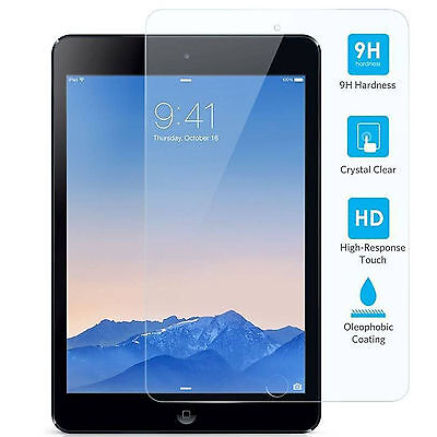 Premium Tempered Glass Screen Protector Film for Apple iPad 2 3 4 Air Mini Pro